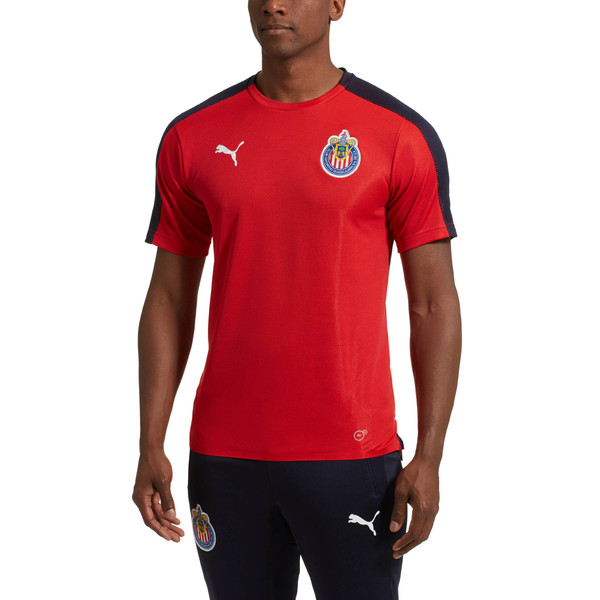 Chivas Stadium Jersey, Puma Red, large