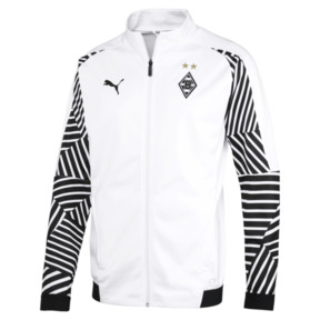 Thumbnail 4 of BMG Stadium Jacket, Puma White, medium
