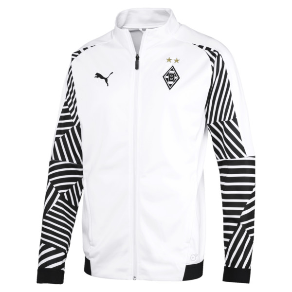 BMG Stadium Jacket, Puma White, large