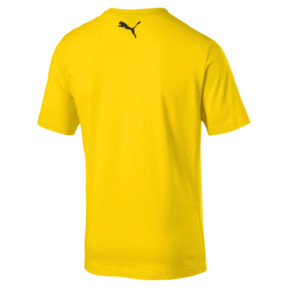 Thumbnail 5 of BVB Herren Shoe Tag T-Shirt, Cyber Yellow, medium