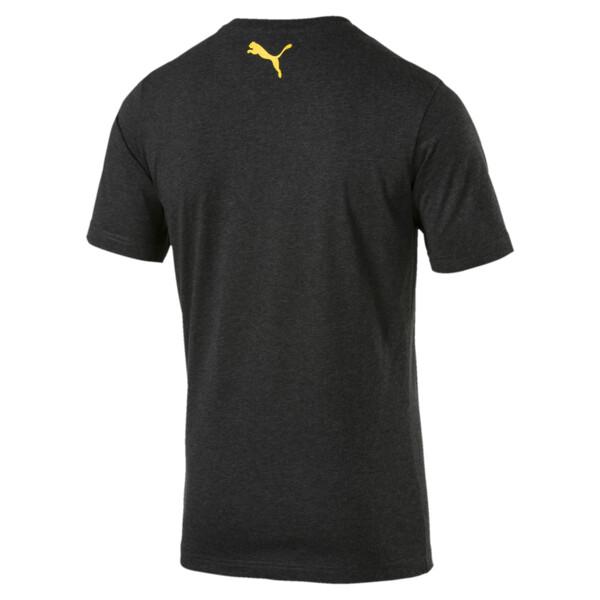 BVB Men's Shoe Tag T-Shirt, Dark Gray Heather, large