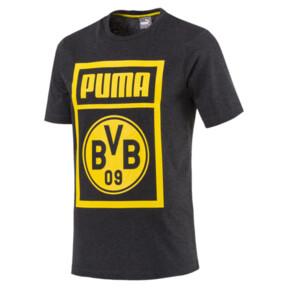 Thumbnail 4 of BVB Men's Shoe Tag T-Shirt, Dark Gray Heather, medium