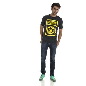 Thumbnail 3 of BVB Men's Shoe Tag T-Shirt, Dark Gray Heather, medium