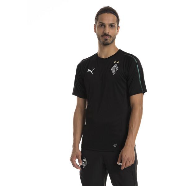 Borussia Mönchengladbach Men's Training Jersey, Puma Black, large