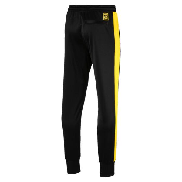 BVB Men's T7 Pants, Puma Black, large