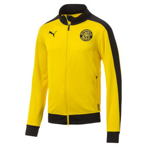 Thumbnail 4 of BVB Men's T7 Track Jacket, Cyber Yellow, medium