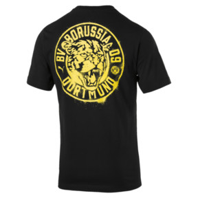 Thumbnail 2 of T-Shirt BVB Premium Stencil, Puma Black, medium