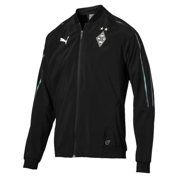 Borussia Mönchengladbach Herren Leisure Jacke, Puma Black, large