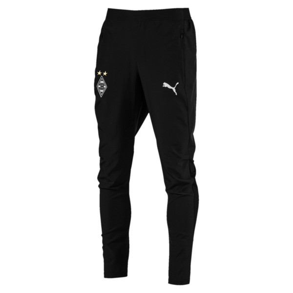 Borussia Mönchengladbach Men's Leisure Pants, Puma Black, large