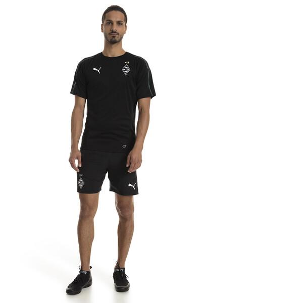 Borussia Mönchengladbach Herren Leisure Shorts, Puma Black, large