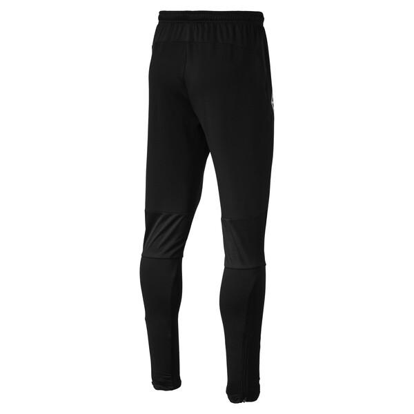Borussia Mönchengladbach Men's Training Pants, Puma Black, large