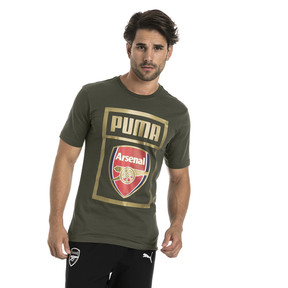 Thumbnail 1 of AFC Men's Fan Cotton T-Shirt, Forest Night, medium