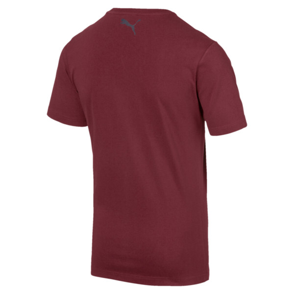 AFC Men's Fan Cotton T-Shirt, Pomegranate, large
