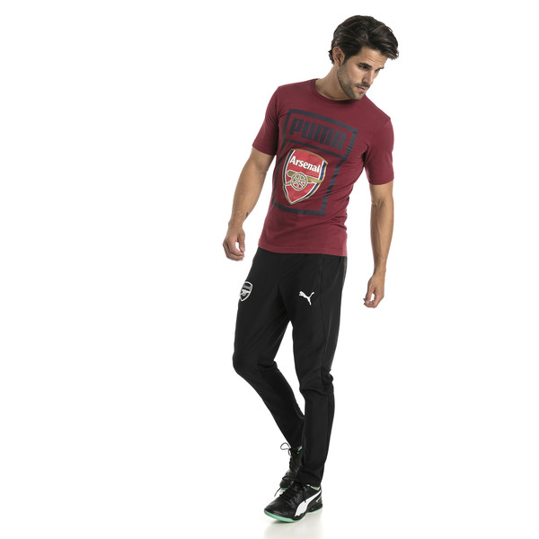 AFC Herren Fan Cotton T-Shirt, Pomegranate, large