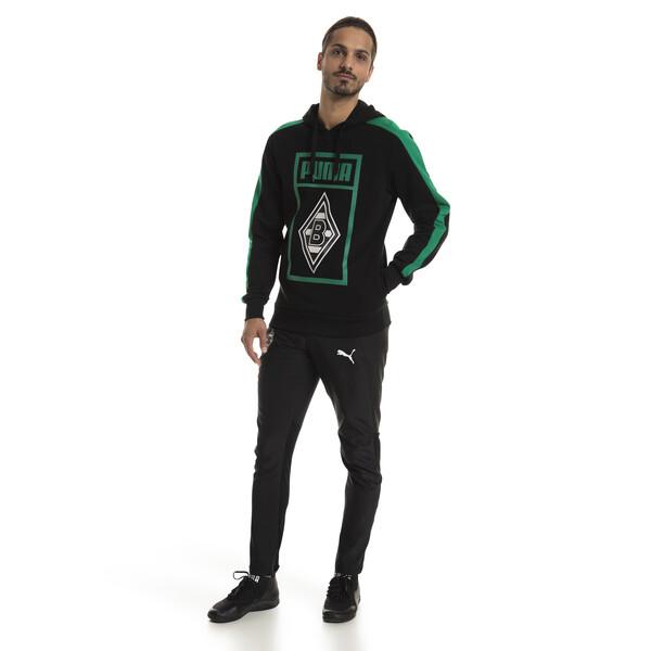 Borussia Mönchengladbach Herren Shoe Tag Hoodie, Puma Black, large