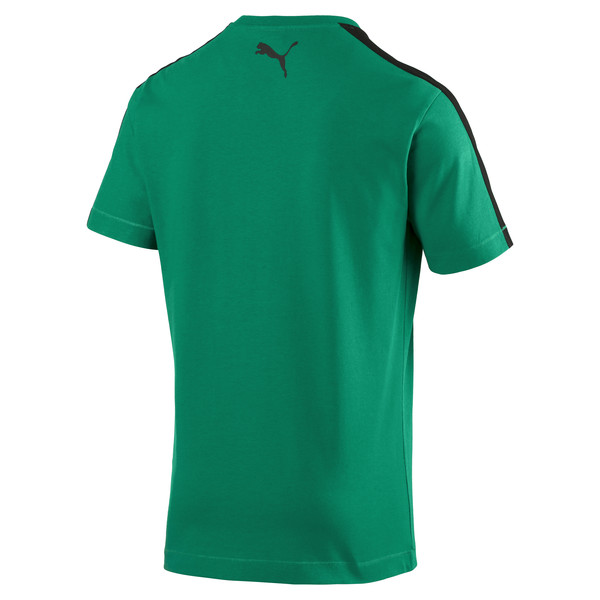 Borussia Mönchengladbach Herren T7 Stencil T-Shirt, Power Green, large
