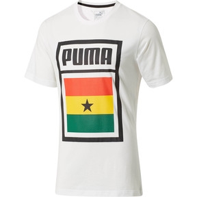 Thumbnail 1 of Forever Soccer Country Cotton T-Shirt, Puma White-(Ghana), medium
