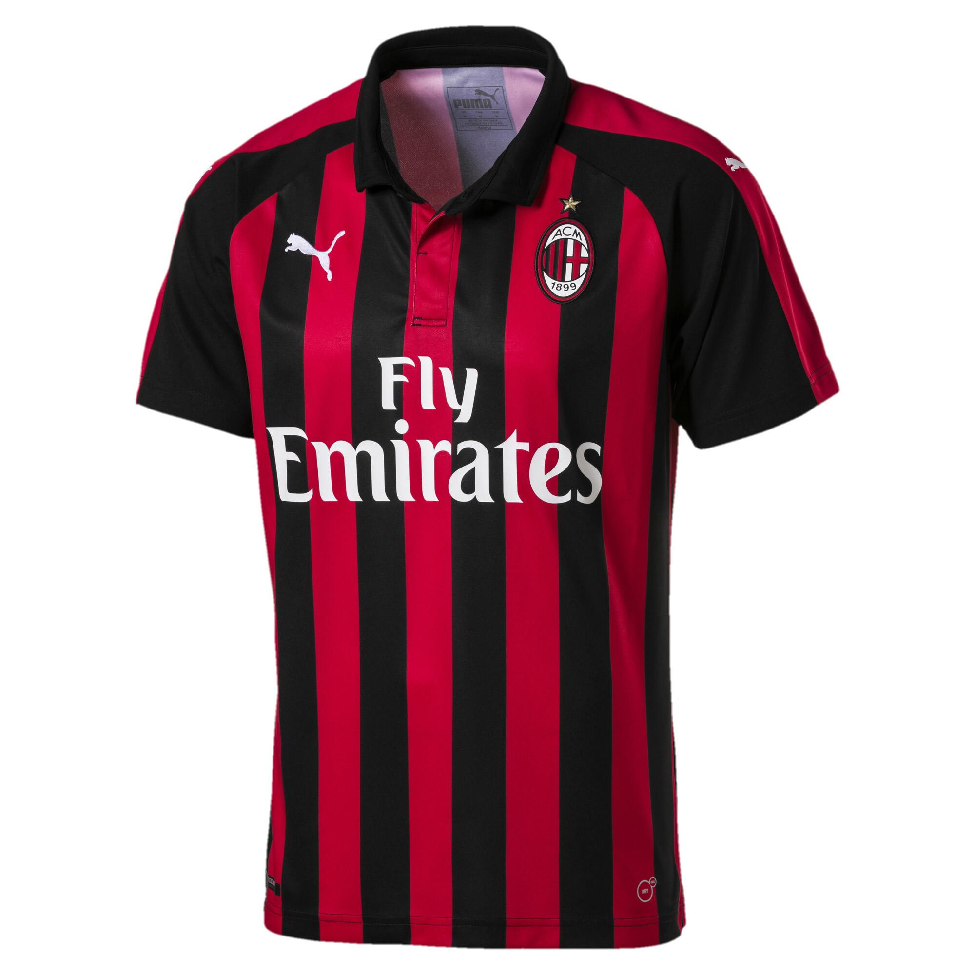 Image Puma AC Milan Men's Home Replica Jersey #4