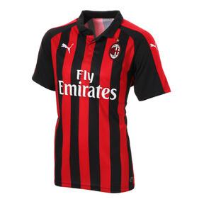 Thumbnail 1 of AC MILAN SS ホーム レプリカシャツ, Tango Red-Puma Black, medium-JPN