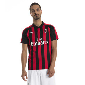 Thumbnail 1 of AC Milan Men's Replica Home Jersey, Tango Red-Puma Black, medium