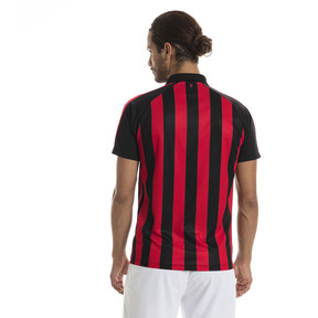 Thumbnail 2 of AC Milan Men's Replica Home Jersey, Tango Red-Puma Black, medium