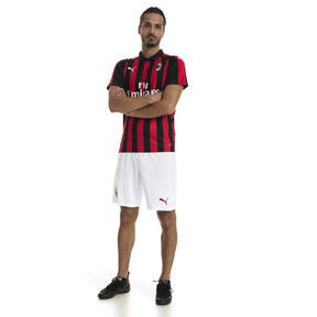 Thumbnail 3 of AC Milan Men's Replica Home Jersey, Tango Red-Puma Black, medium