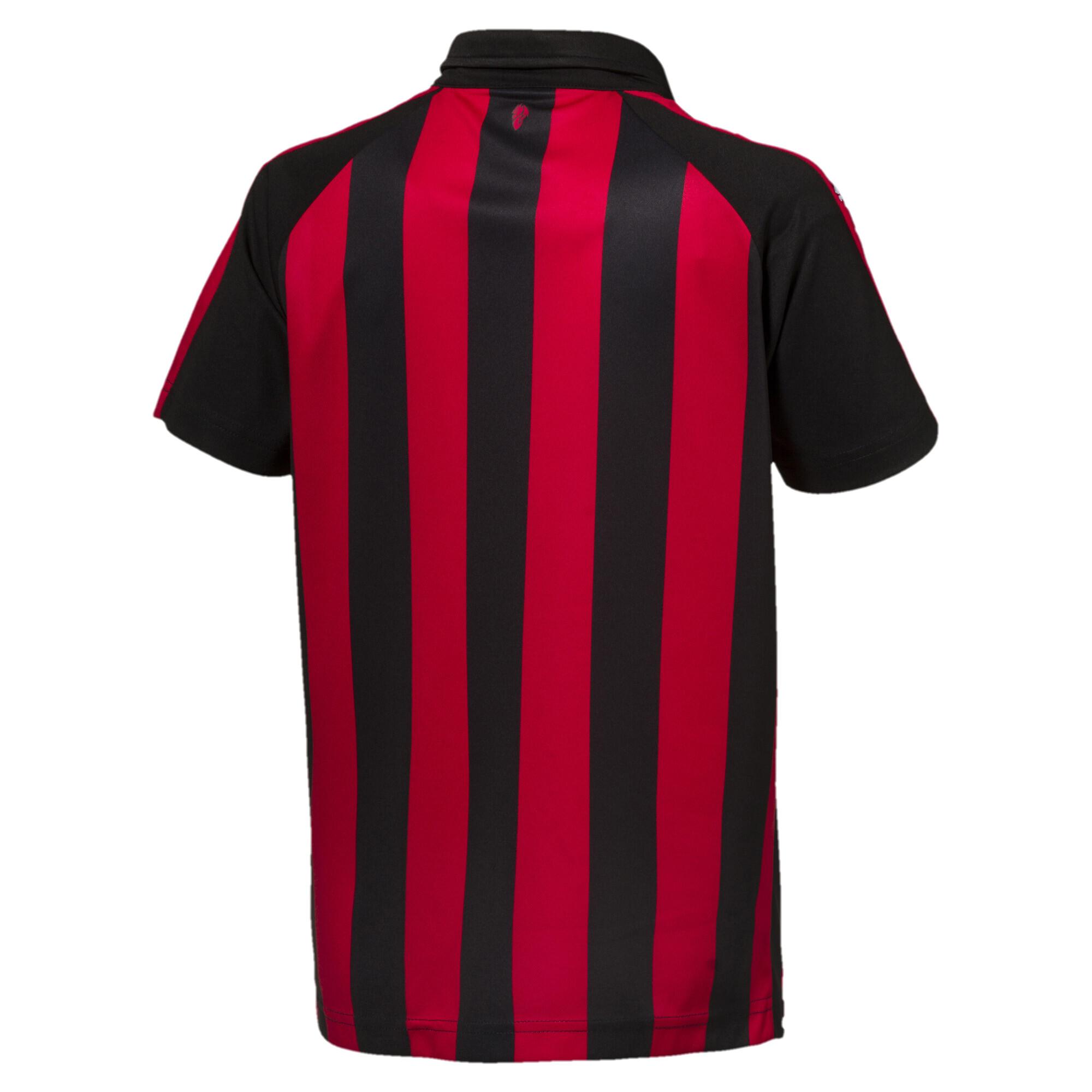 Camiseta réplica de local para niños AC Milan