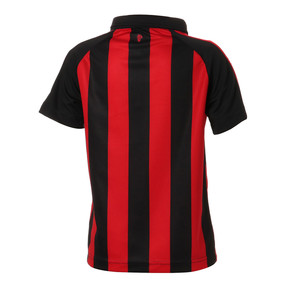 Thumbnail 2 of キッズ AC MILAN SS ホーム レプリカシャツ, Tango Red-Puma Black, medium-JPN