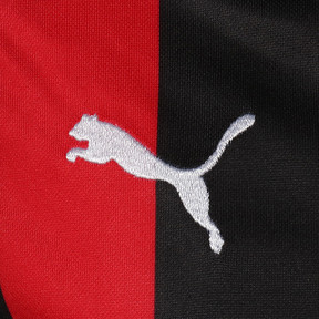 Thumbnail 3 of キッズ AC MILAN SS ホーム レプリカシャツ, Tango Red-Puma Black, medium-JPN