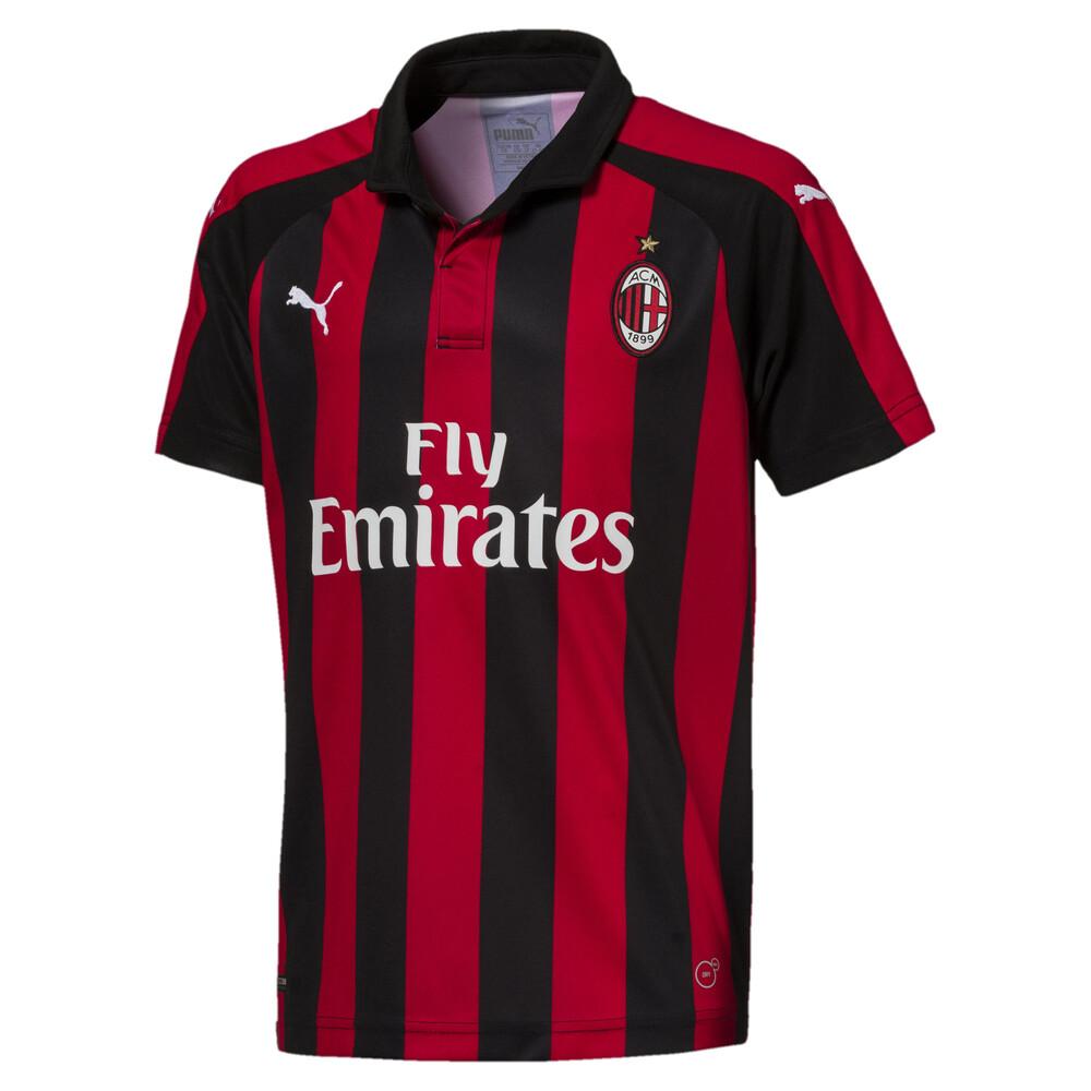 Image PUMA AC Milan Kids' Home Replica Jersey #1