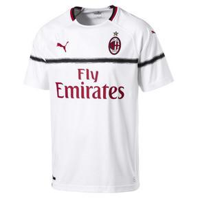 Thumbnail 2 of AC Milan Men's Replica Away Jersey, Puma White-Tango Red, medium