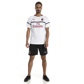 Thumbnail 3 of AC Milan Men's Replica Away Jersey, Puma White-Tango Red, medium