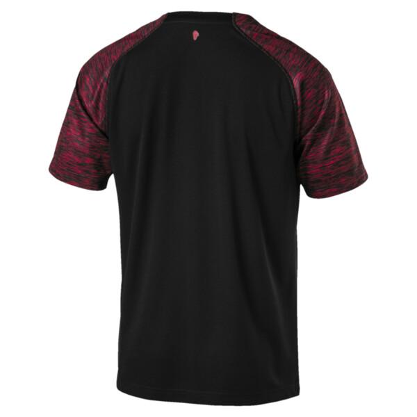 Camiseta de tercera equipación de hombre AC Milan, Puma Black-Tango Red, grande