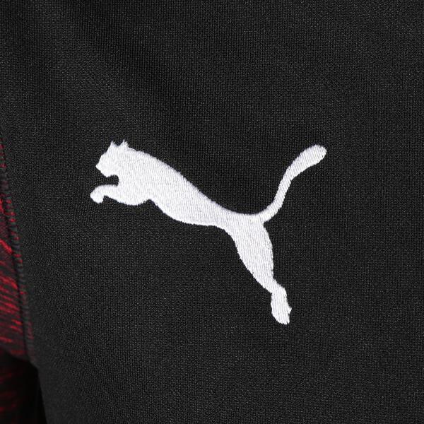 AC MILAN SS サード レプリカシャツ, Puma Black-Tango Red, large-JPN