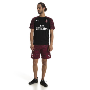 Thumbnail 3 of Maillot troisième tenue AC Milan Replica pour homme, Puma Black-Tango Red, medium