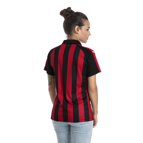AC Milan replica-thuisshirt voor vrouwen, Tango Red-Puma Black, large