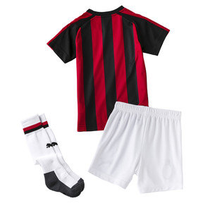 Thumbnail 2 of AC Milan Kids' Home Minikit, Tango Red-Puma Black, medium