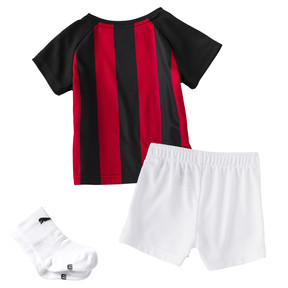 Thumbnail 2 of AC Milan Baby Heimset, tango red-Puma Black, medium