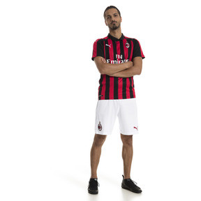 Thumbnail 3 of AC Milan Men's Replica Shorts, Puma White-Tango Red, medium