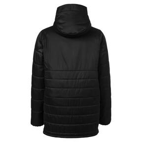 Thumbnail 2 of AC Milan Men's Bench Jacket, Puma Black-Victory Gold, medium