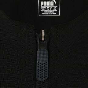 Thumbnail 6 of キッズ AC MILAN スタジアムジャケット, Puma Black-Chili Pepper, medium-JPN