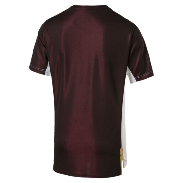 AC Milan Men's Stadium Jersey, Puma White-Puma Black, large