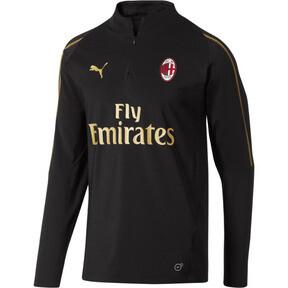 AC Milan1/4 Zip Top with Sponsor