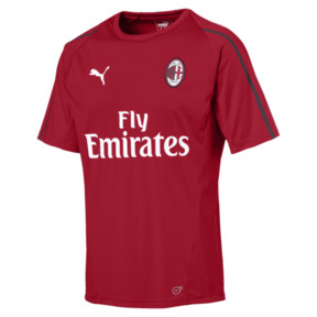 Thumbnail 4 of AC Milan Herren Trainingstrikot, Chili Pepper-Puma White, medium