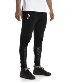 Thumbnail 1 of AC Milan Men's Pro Training Pants, Puma Black-Victory Gold, medium