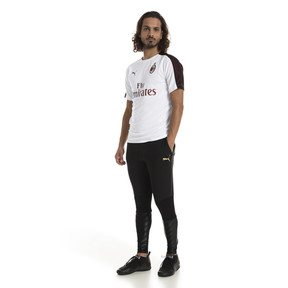 Thumbnail 3 of AC Milan Men's Pro Training Pants, Puma Black-Victory Gold, medium