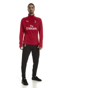 Thumbnail 3 of Sweat pour l'entraînement AC Milan Fleece pour homme, Chili Pepper-Puma White, medium