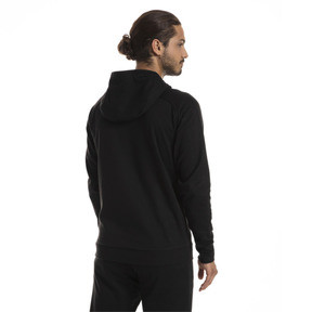 Thumbnail 2 of AC Milan Men's Casual Performance Hooded Jacket, Puma Black-Puma White, medium