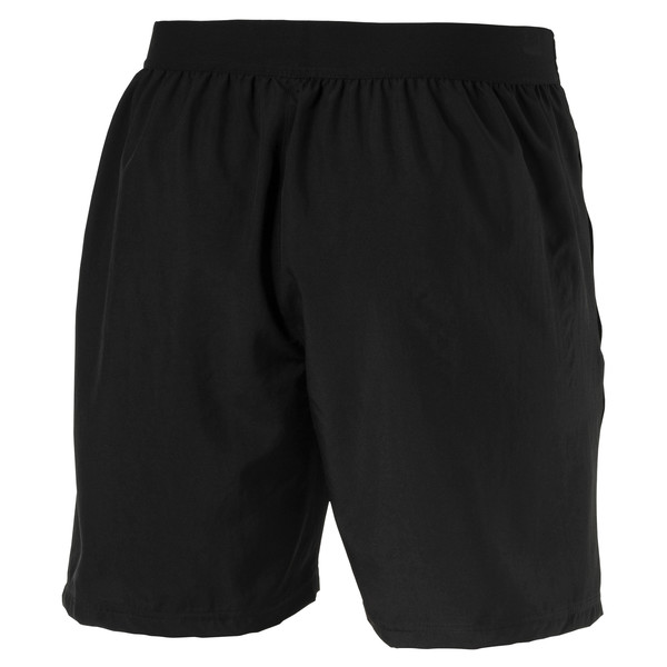 AC Milan Men's Woven Shorts, Puma Black-Puma White, large