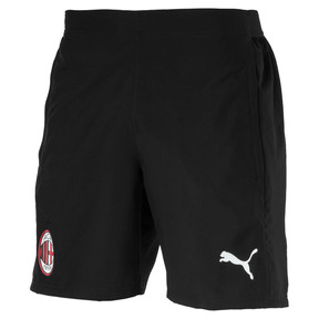 Thumbnail 1 of Short tissé AC Milan pour homme, Puma Black-Puma White, medium
